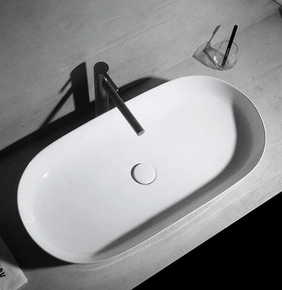 Rene - Modern Rounded Bathroom Sink - A&T Creative