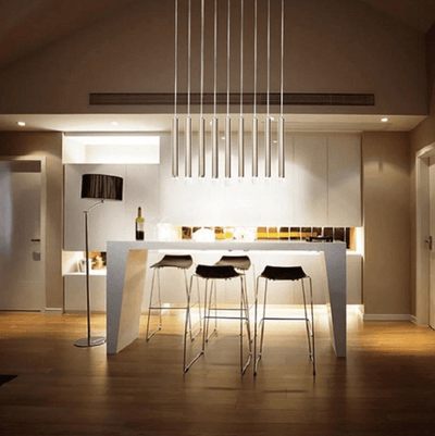 The Nordic Tube Pendant Lights