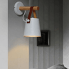 Wooden Lantern Nordic Hanging Wall Lamp - A&T Creative