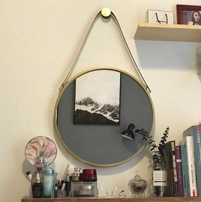 Zenith - Round Hanging Mirror - A&T Creative