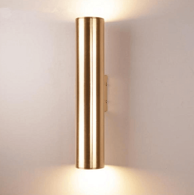 Tobias - Modern Nordic Art Deco Cylinder Wall Lamp