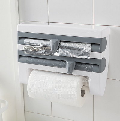 4-in-1 Kitchen Roll Holder Dispenser - A&T Creative