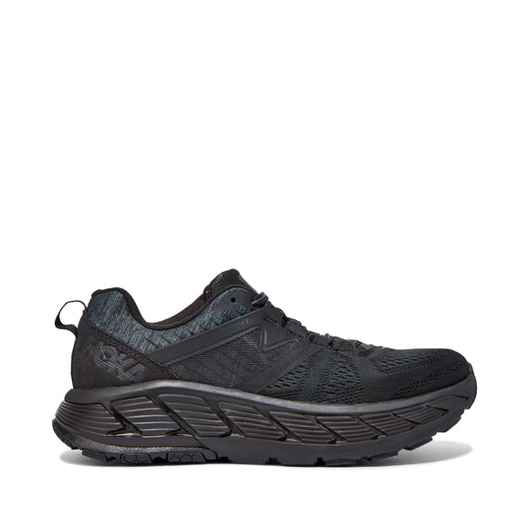 Hoka One One Men's Gaviota 2 Black/Dark Shadow (D or 2E Width)