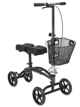 Drive Medical Dual Pad Steerable Knee Scooter with Basket