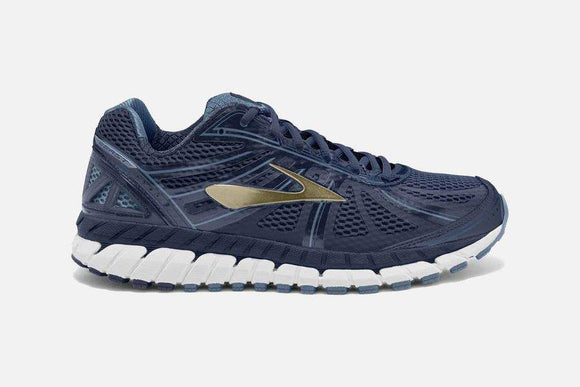Brooks Men's Beast '16 Navy/China Blue/Gold (4E Width)