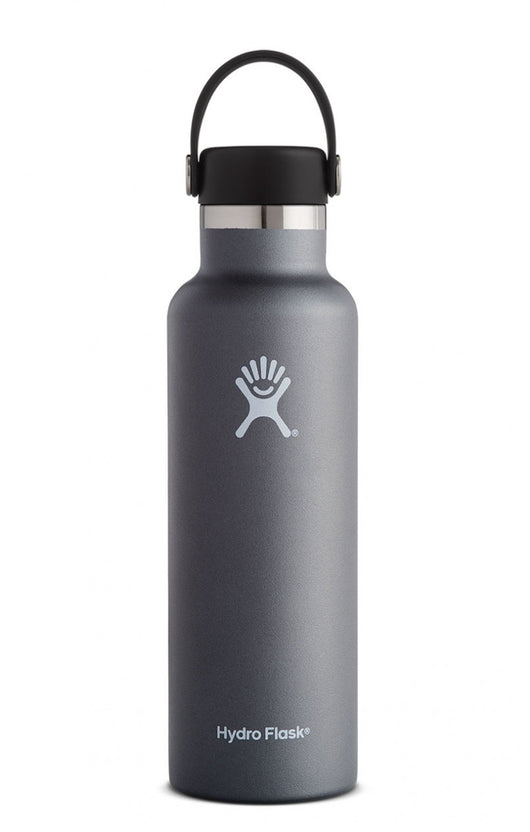 Hydro Flask Carbon Grey 21 oz Standard Mouth Water Bottle