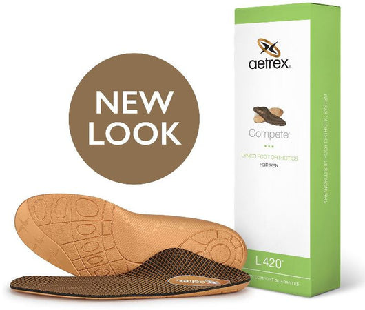 Lynco Men's L420 Complete Flat/Low Arch Orthotic