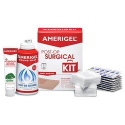 AMERIGEL® Post-Op Surgical Kit with Fabric Bandage