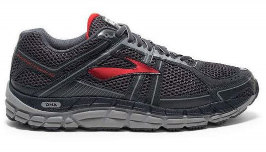 Brooks Men's Addicition 12 Anthracite/Red (D Width)