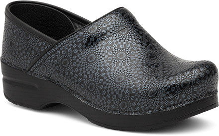 Dansko Women's Pro XP Clog - Black Medallion Patent Leather