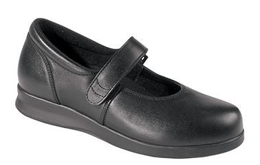 Drew Women's Bloom II Diabetic Shoe Black (D or 2E Width)