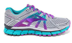 Brooks Women's Adrenaline GTS 17 Silver/Purple (2A, B or D Width)