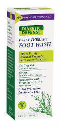 Diabetic Defense® Daily Therapy Foot Wash by Pedifix