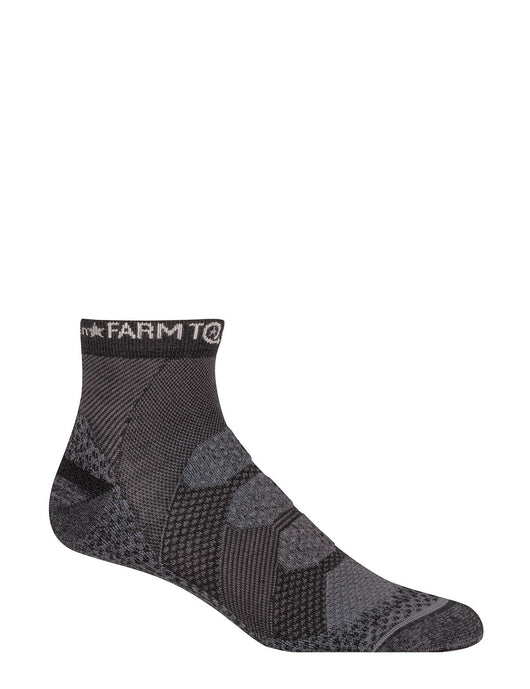 Farm to Feet Men's Raleigh Quarter Sock