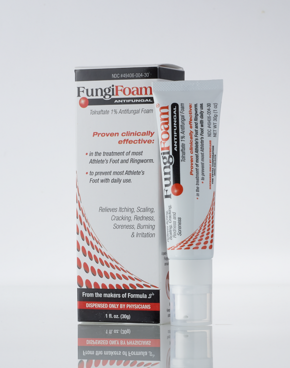 Fungifoam Antifungal Treatment (Tolnaftate 1%)
