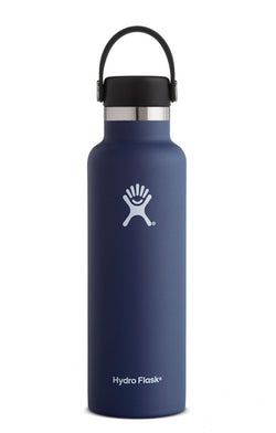 Hydro Flask Cobalt Navy 21 oz Standard Mouth Water Bottle