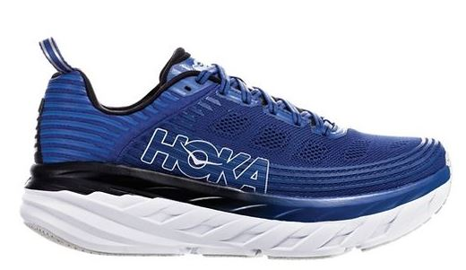 Hoka One One Men's Bondi 6 Galaxy Blue  (D or 2E Width)