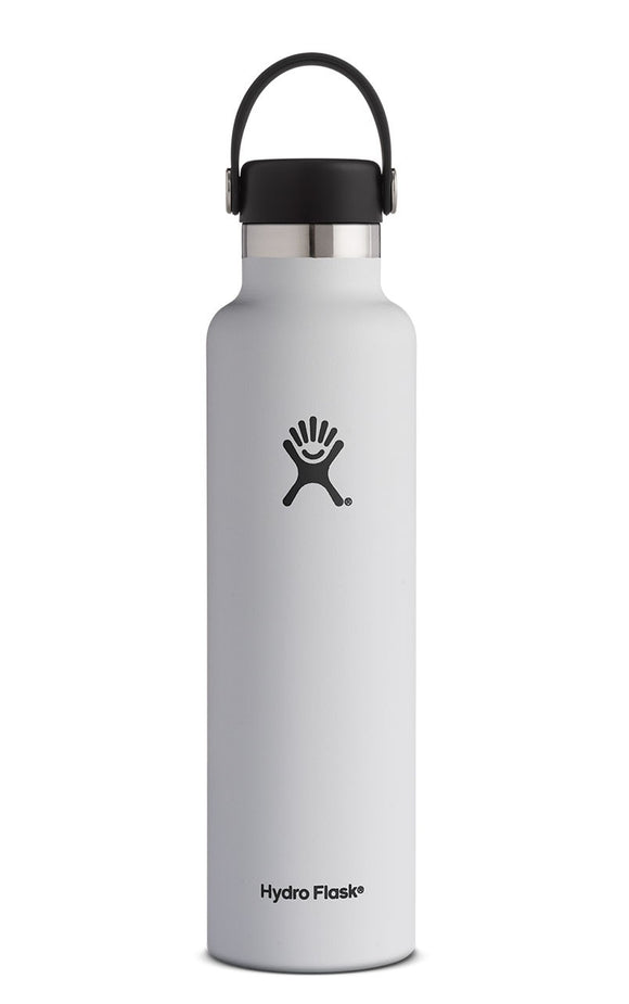 Hydro Flask 24 oz White Standard Mouth Water Bottle