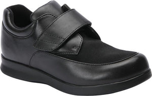 Drew Men's Journey II Diabetic Shoe Black (2E or 4E Width)