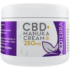 Medterra CBD 250mg Manuka Bee Healing Cream 2.0oz