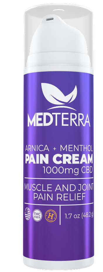 Medterra CBD 1000mg Topical Cooling Cream 1.7oz