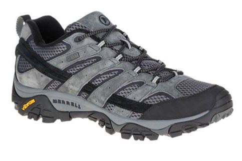 Merrell Men's Moab 2 Low Granite Waterproof Hiker (D or 2E Width)