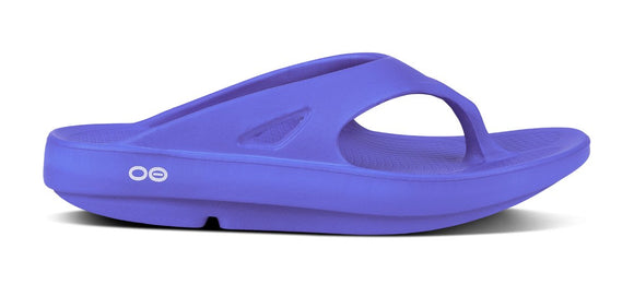 Oofos OOriginal Sport Flip (Periwinkle) Limited Stock Color