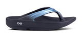 Oofos Oolala Luxe Women's Flip Flop (Metallic Blue) LIMITED SIZES