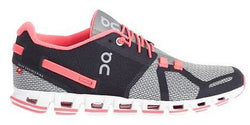 ON Running Women's Cloud Grey/Neon Pink (B Width)