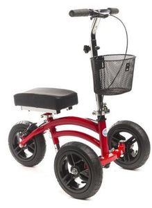 KneeRover Jr. Red All Terrain Knee Scooter