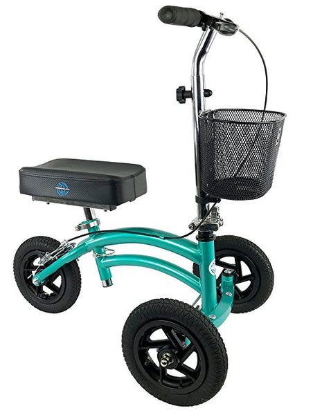 KneeRover Jr. Teal All Terrain Knee Scooter
