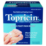 Topricin Foot Therapy Cream Jar 4 oz