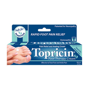 Topricin Foot Therapy Cream 2 oz