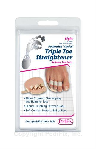 Podiatrists' Choice® Triple Toe Straightener by Pedifix