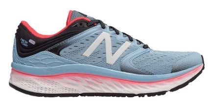 New Balance Women's 1080 v8 Clear Sky/Vivid Coral/Black (2A, B or D Width)