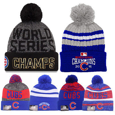 ... ireland 2016 world series champs chicago cubs knit cap beanie hat gold  rally brand new beanies 15b139c169c