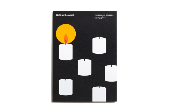 The Parable of Jesus, Postcards – Candle