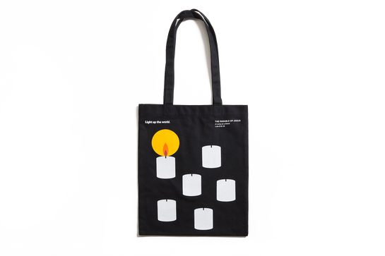 The Parable of Jesus, Basic Tote – Candle