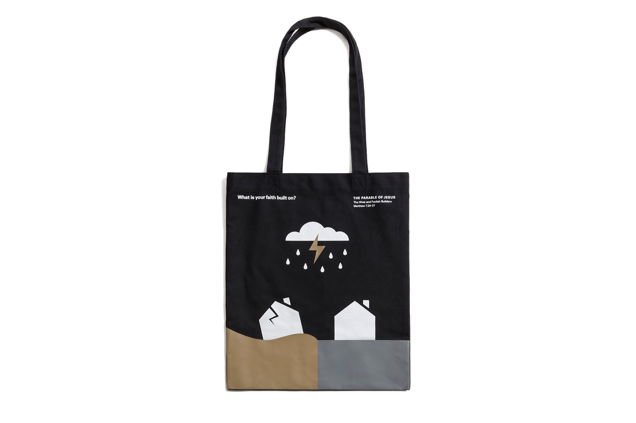 The Parable of Jesus, Basic Tote – Rain