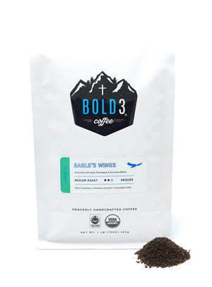 BOLD3 Coffee | Eagle's Wings | Medium Roast