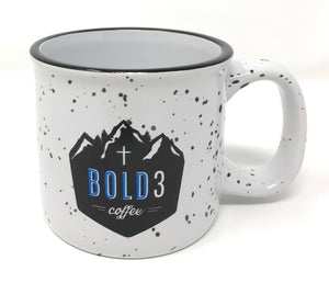 NEW! Faith Can Move Mountains Campfire Mug