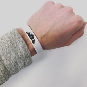 BOLD3 Coffee Wristband - Mountain Logo with Cross