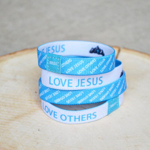 NEW! Love Jesus, Love Others Bracelet - 4 Pack