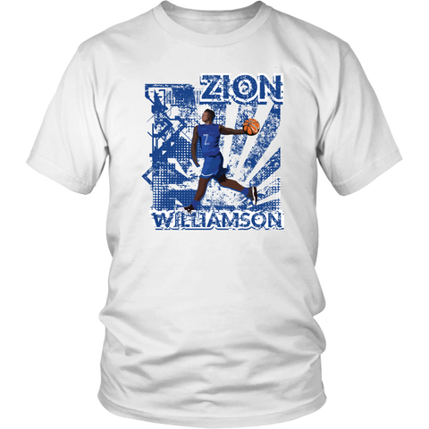 Zion Williamson Blue Devil Design