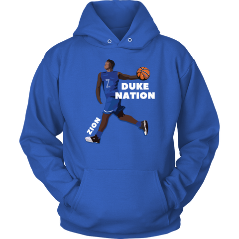LIMITED EDITION - ZION WILLIAMSON DUKE FALL HOODIE