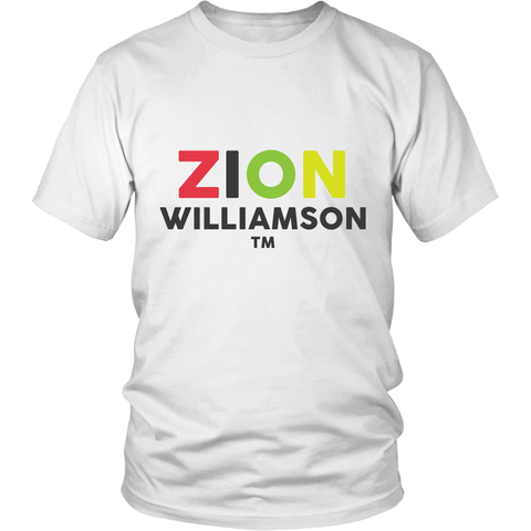 ZION WILLIAMS - OFFICIAL T SHIRT #1 HIGHSCHOOL PLAYER IN THE NATION