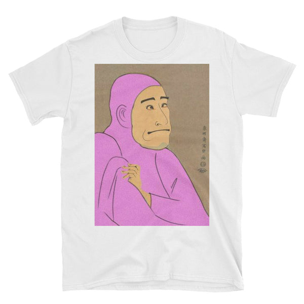 Pink Guy Woodblock T-shirt