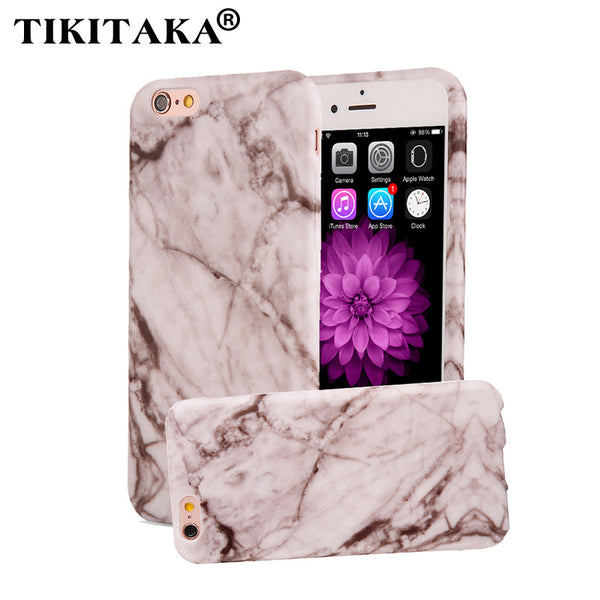 6 6s Fashion Marble Stone Image Painted Phone Cases For iPhone 7 6 6s Plus SE 5 5s Case Capa Soft TPU Silicone Back Cover Funda
