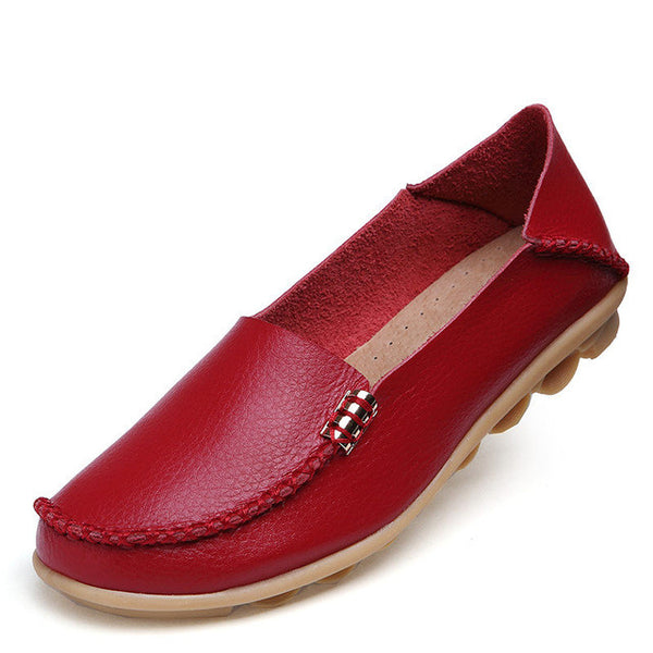 Casual Slip-On Moccasins