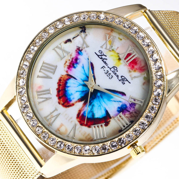 Quartz Butterfly Watch